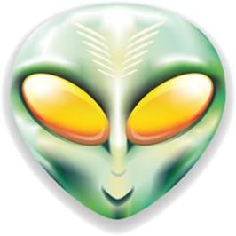 Mostro Alieno Testa-Monster Alien Head-Vector-1